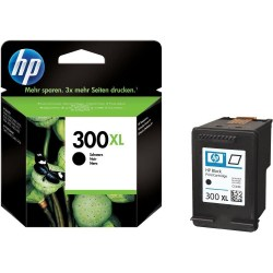 Tusz, HP, 300XL, Black, CC641EE, 883585763436