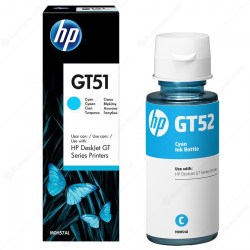 Tusz HP, GT52, cyan, 70ml, M0H54AE, 0190780132517