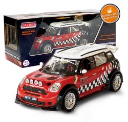 BMW, Mini Cooper, WRC,R60, 1:18, RE02342, 8014966364184, Spidko, Globo
